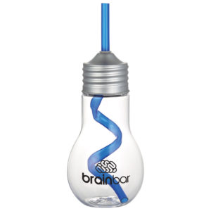 Light Bulb 20-oz. Tumbler with Straw